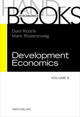 Handbook of Development Economics