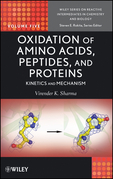 Oxidation of Amino Acids, Peptides, and Proteins: Kinetics and Mechanism