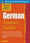 Practice Makes Perfect German Sentence Builder