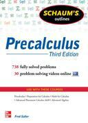 Schaum's Outline of Precalculus, 3rd Edition