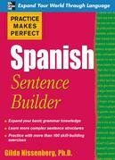 Practice Makes Perfect Spanish Sentence Builder