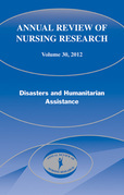 Annual Review of Nursing Research, Volume 30: Disasters and Humanitarian Assistance