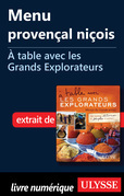 Menu provençal niçois - A table avec les Grands Explorateurs