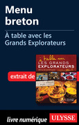 Menu breton - A table avec les Grands Explorateurs