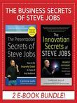 Business Secrets of Steve Jobs: Presentation Secrets and Innovation Secrets All in One Book! (eBook Bundle)