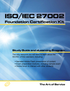 ISO/IEC 27002 Foundation Complete Certification Kit - Study Guide Book and Online Course