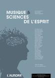 Musique et sciences de l'esprit