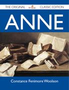 Anne - The Original Classic Edition