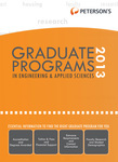Graduate Programs in Engineering & Applied Sciences 2013 (Grad 5)