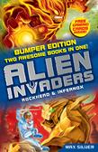 Alien Invaders: Rockhead & Infernox (2 Books in 1)