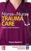 Nurse to Nurse: Trauma Care: Trauma Care