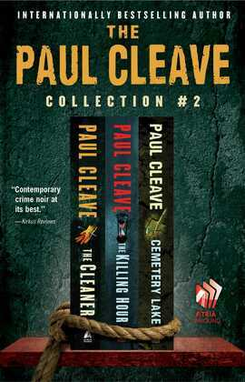 The Paul Cleave Collection #1: Blood Men, Collecting Cooper, and The Laughterhouse