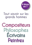 Best of &quot;Petits livres des grands Hommes&quot; : grands crivains, grands philosophes, grands peintres, grands compositeurs