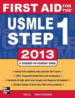 First Aid for the USMLE Step 1 2013