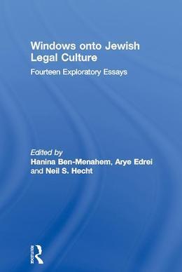 Windows Onto Jewish Legal Culture: Fourteen Exploratory Essays