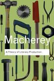 A Theory of Literary Production
