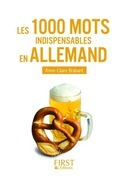 Petit livre de - 1000 mots indispensables en allemand