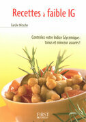 Petit livre de - Recettes  faible IG (indice glycmique)