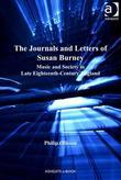 The Journals and Letters of Susan Burney: Music and Society in Late Eighteenth-Century England