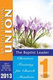 Baptist Leader 1st Quarter 2013