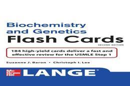 Lange Biochemistry and Genetics Flash Cards 2/E