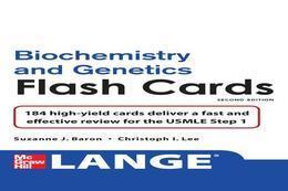 Lange Biochemistry and Genetics Flash Cards 2/E