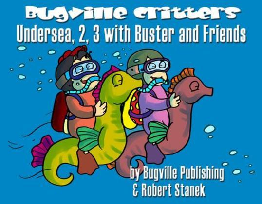 Undersea, 2, 3 with Buster and Friends. Numbers for Counting