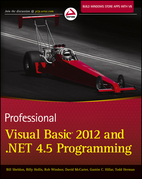 Professional Visual Basic 2012 and .Net 4.5 Programming