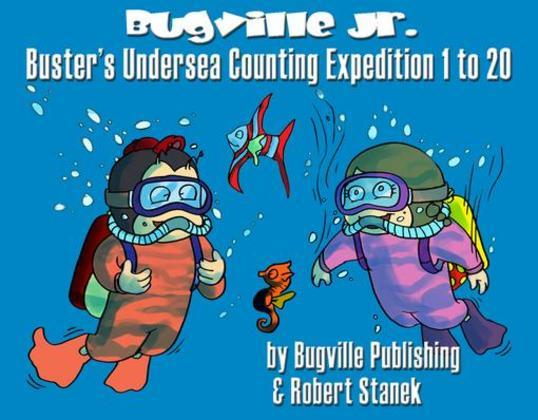Buster's Undersea Counting Expedition 1 to 20. Counting and Numbers to 20