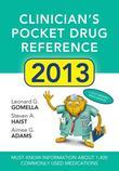 Clinicians Pocket Drug Reference 2013