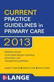CURRENT Practice Guidelines in Primary Care 2013
