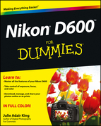 Nikon D600 For Dummies