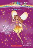 Night Fairies #1: Ava the Sunset Fairy: A Rainbow Magic Book