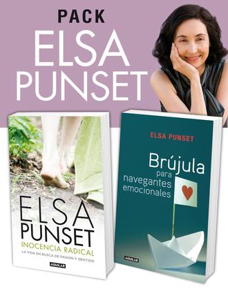 Pack Elsa Punset: Inocencia radical y Brújula para navegantes emocionales