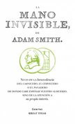 Adam Smith - La mano invisible