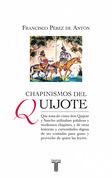 Chapinismos del Quijote