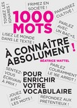 Mille mots  connatre absolument