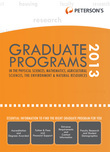 Graduate Programs in the Physical Sciences, Mathematics, Agricultural Sciences, the Environment &amp; Natural Resources 2013 (Grad 4)