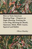 How to Train American Hunting Dogs - Chapters on Night Hunting, Training the Coon Dog, Hunting for Skunk, Opossum, Mink, Wolf, Coyote, Squirrel and Ra