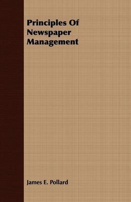 Principles of Newspaper Management