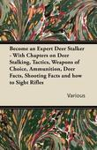 Become an Expert Deer Stalker - With Chapters on Deer Stalking, Tactics, Weapons of Choice, Ammunition, Deer Facts, Shooting Facts and How to Sight Ri