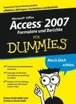 Access 2007 Formulare und Berichte für Dummies