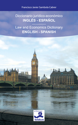 Diccionario jurídico-económico Inglés-Español