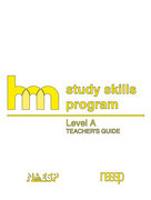 Level A: Teacher's Guide: hm Learning & Study Skills Program