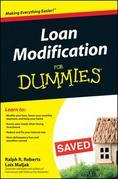 Loan Modification For Dummies