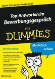 Top-Antworten im Bewerbungsgespr&auml;ch f&uuml;r Dummies
