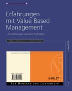 Erfahrungen Mit Value Based Management: Praxislosungen Auf Dem Prufstand