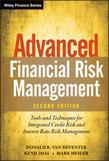 Advanced Financial Risk Management: Tools and Techniques for Integrated Credit Risk and Interest Rate Risk Management