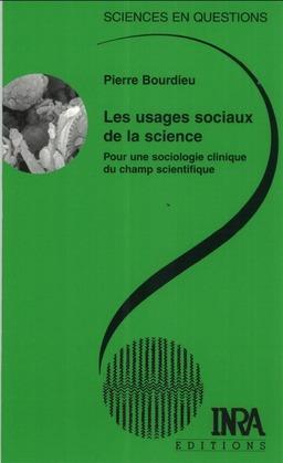Les usages sociaux de la science
