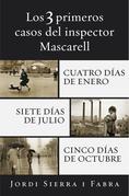 Los 3 primeros casos del inspector Mascarell: Cuatro días de enero, Siete días de julio y Cinco días de octubre.